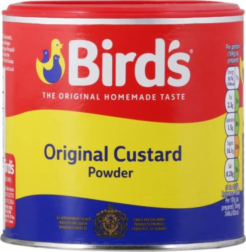 Bird's Custard Powder Perspective: front