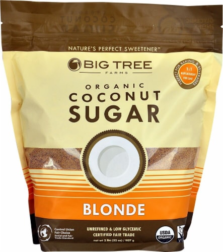 Big Tree Farms  Organic Coconut Sugar Perspective: front