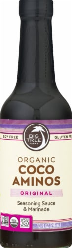 Big Tree Farms Organic Coco Aminos Original Seasoning Sauce & Marinade Perspective: front