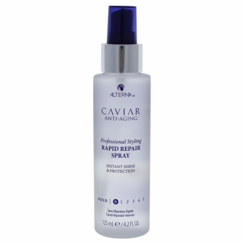 Caviar Anti-Aging Rapid Repair Hairspray by Alterna for Unisex - 4 oz Hairspray Perspective: front
