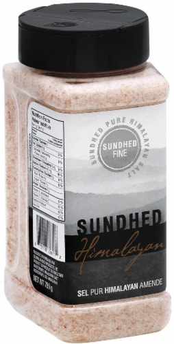 Sundhed Fine Himalayan Salt Perspective: front