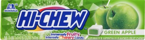 Hi-Chew Green Apple Fruit Chews Perspective: front