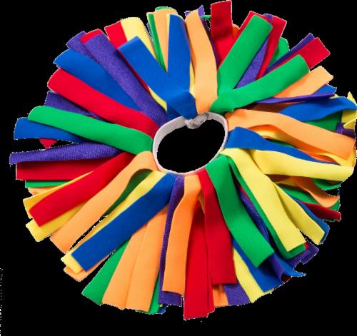 Pomchies Pom-ID Rainbow Bag Identifier - Yellow Perspective: front