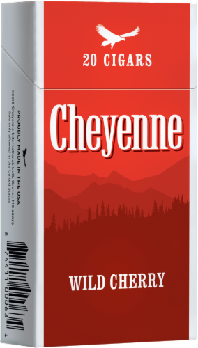 Cheyenne Wild Cherry Cigars Perspective: front