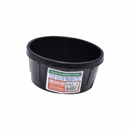 Tuff Stuff Products RBF-2 2 qt. Rubber Round Feeder Perspective: front