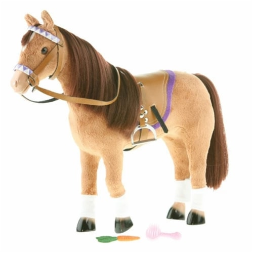 "Paradise Horses 10"" English Chestnut Horse Perspective: front"