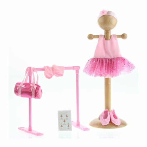 """Be My Girl 18"""" Doll Ballet Playset Perspective: front"""