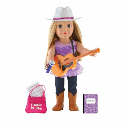 "Be My Girl Country Star 18"" Doll Set Perspective: front"