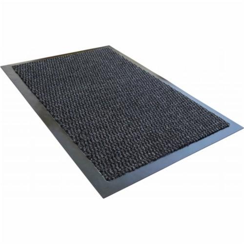 Floortex FR49150DCBWV Doortex Advantagemat 36 x 60 in. Rectangular Indoor Entrance Mat, Gray Perspective: front