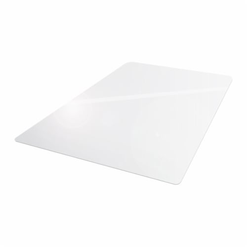 Floortex Cleartex Advantagemat 48 x 60  Vinyl Office or Home Floor Chair Mat Perspective: front