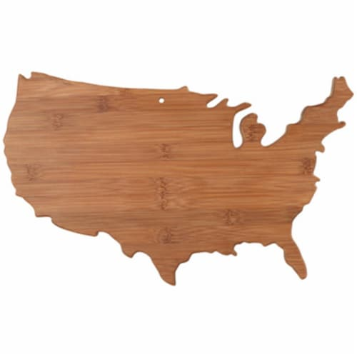 Totally Bamboo 20-8000US USA Bamboo Cutting Board Perspective: front