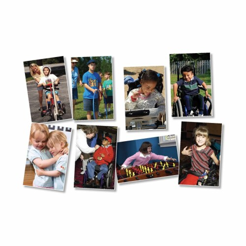 All Kinds of Kids: Differing Abilities Bulletin Board Set Perspective: front