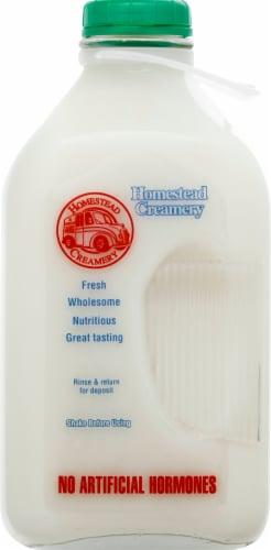 Homestead Creamery Nonfat Skim Milk Perspective: front