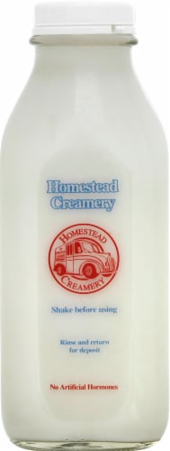 Homestead Creamery Buttermilk Perspective: front
