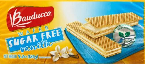 Bauducco Sugar Free Vanilla Wafers Perspective: front