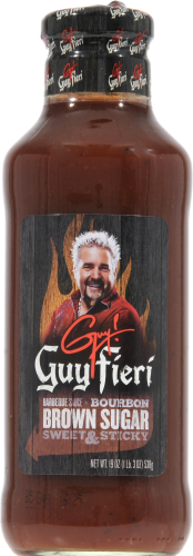 Guy Fieri Brown Sugar BBQ Sauce Perspective: front