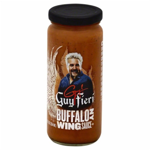 Guy Fieri Buffalo NY Wing Sauce Perspective: front