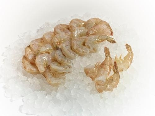 Individually Quick Frozen Shrimp Perspective: front