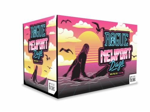 Rogue Newport Daze Hazy Pale Ale Perspective: front