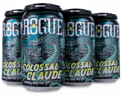 Rogue Colossal Claude Imperial IPA Perspective: front