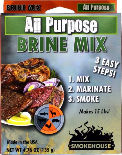 Smokehouse Products All Purpose Brine Mix Perspective: front