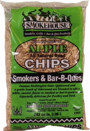 Smokehouse Products Apple Wood Bar-B-Que Chips Perspective: front