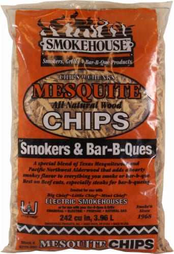 Smokehouse Products Mesquite Wood Chips Perspective: front