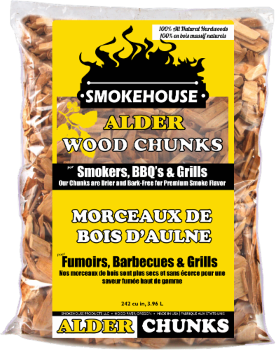 Smokehouse Products Alder Wood Chunks Perspective: front