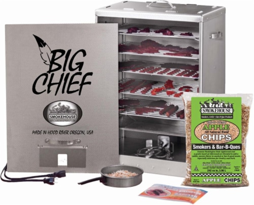 Smokehouse Products Big Chief Front Load Smoker Perspective: front