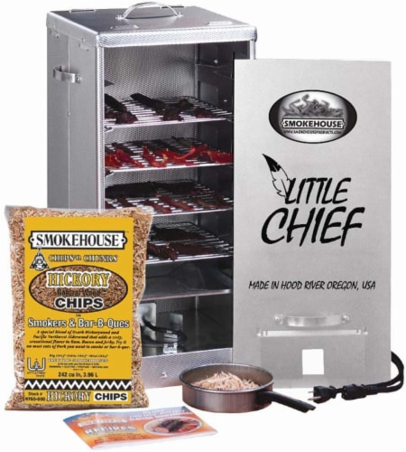 Smokehouse Products Little Chief Front Load Smoker Perspective: front
