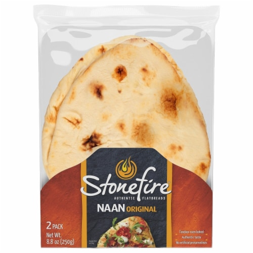 Stonefire Original Naan Flatbreads Perspective: front