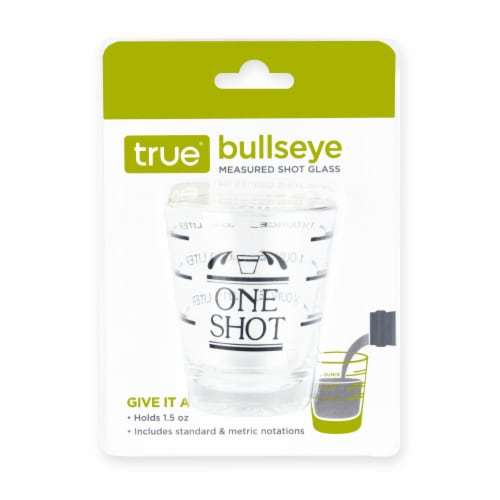 True Fabrications One Shot Shot Glass - Clear Perspective: front
