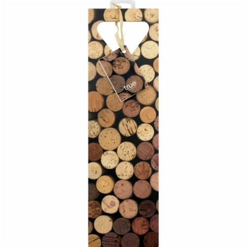 True Fabrications Cork Wine Bag Perspective: front