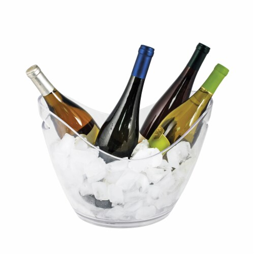 Chill™: Modern Ice Bucket Perspective: front