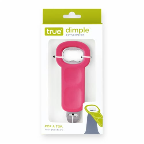 True Fabrications Dimple Bottle Opener - Assorted Colors Perspective: front