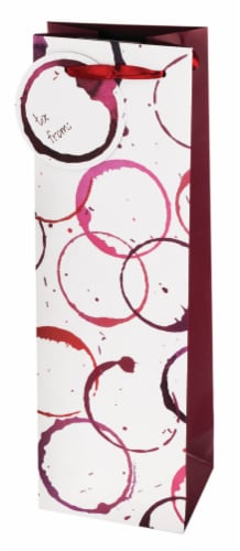 True Fabrications Wine Stain Gift Bag Perspective: front