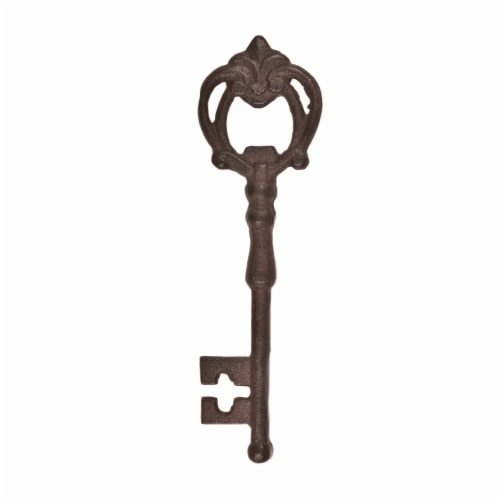 Cast Iron Key Bottle Opener by Twine® Perspective: front