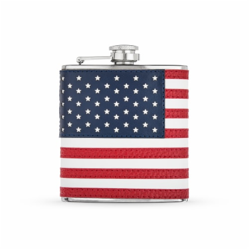 American Flag Flask by Foster & Rye™ Perspective: front