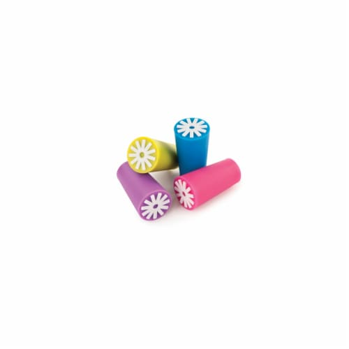 True Starburst Silicone Bottle Stoppers - Assorted Perspective: front