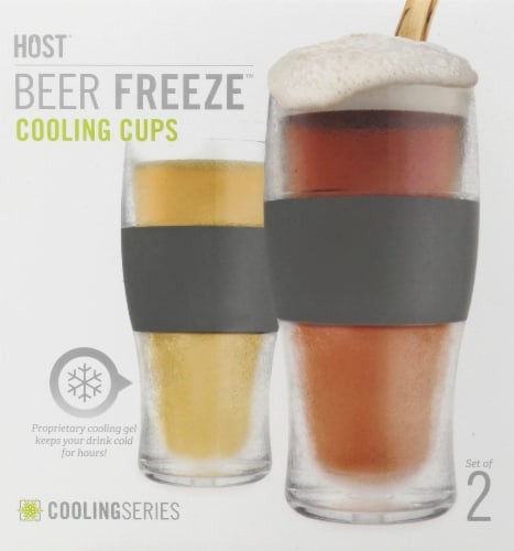 Host Cooling Series Beer Freeze Cooling Cups Perspective: front