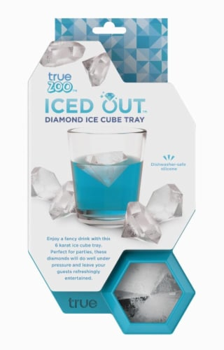 Iced Out Diamond Ice Cube Tray Perspective: front