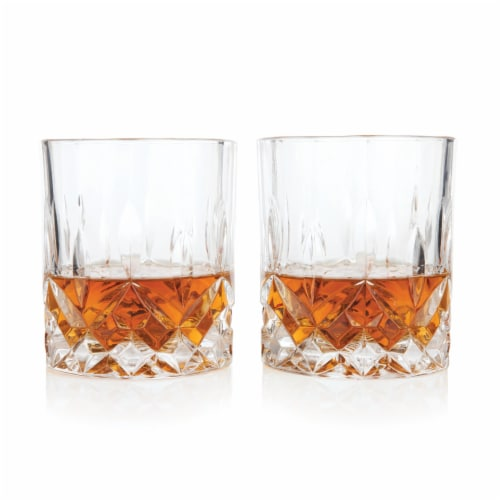 Admiral™ Crystal Tumblers by Viski® Perspective: front
