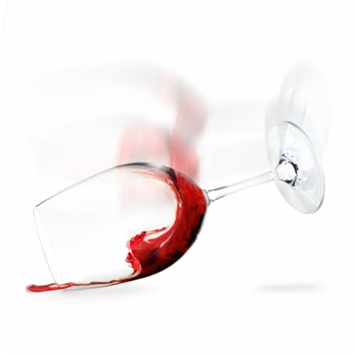 Shatterproof Plastic Wine Glass by True Perspective: front