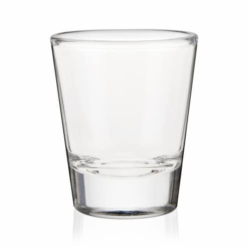 True Fabrications Shotski Shot Glass - Clear Perspective: front