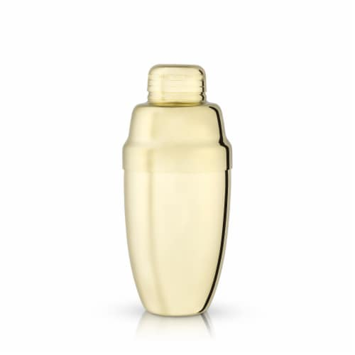 Gold Heavyweight Cocktail Shaker by Viski® Perspective: front