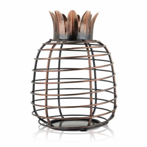 Juicy™ Pineapple Cork Holder by True Perspective: front