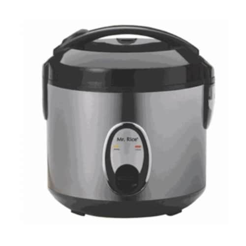 Sunpentown SC-0800S 4 Cup Rice Cooker With Stainless Steel Body Perspective: front