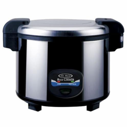 Sunpentown SC-5400S 35-cups Heavy Duty Rice Cooker Perspective: front