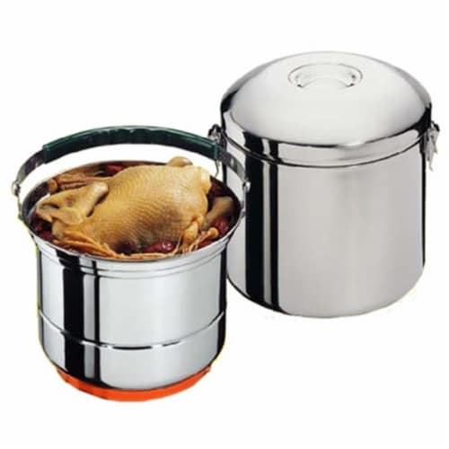 Sunpentown CL-033 8'' Stainless Steel Stove-Top Thermal Cooker Perspective: front