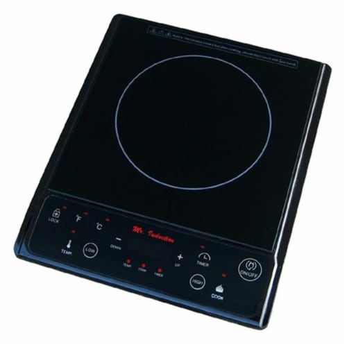 Sunpentown SR-964TB 1300W Induction in Black (Countertop) Perspective: front